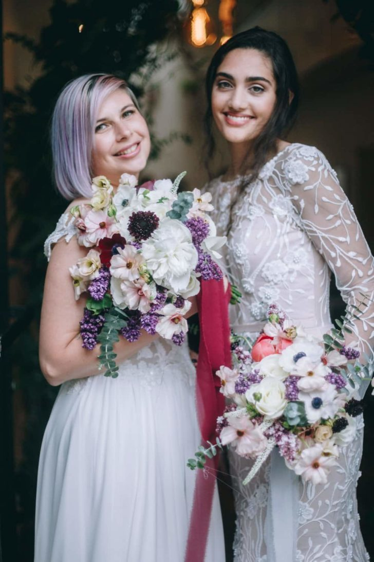 pop up styled wedding