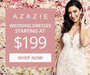 Affordable Wedding Dresses from Azazie