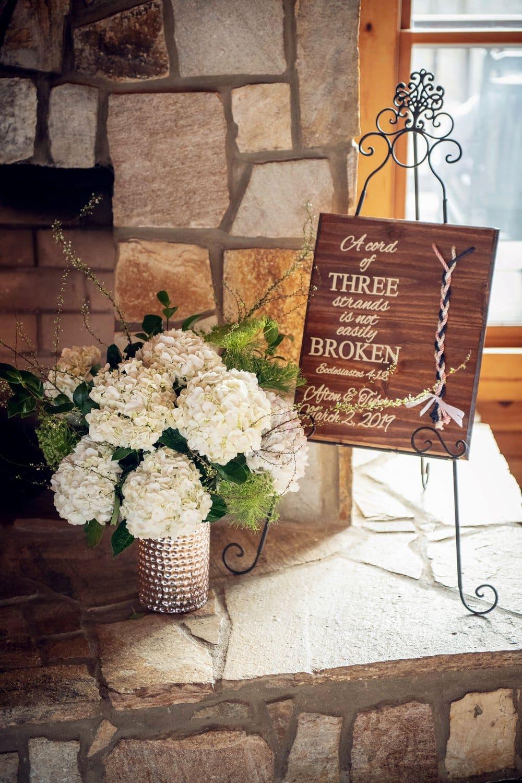 blush and rose gold wedding