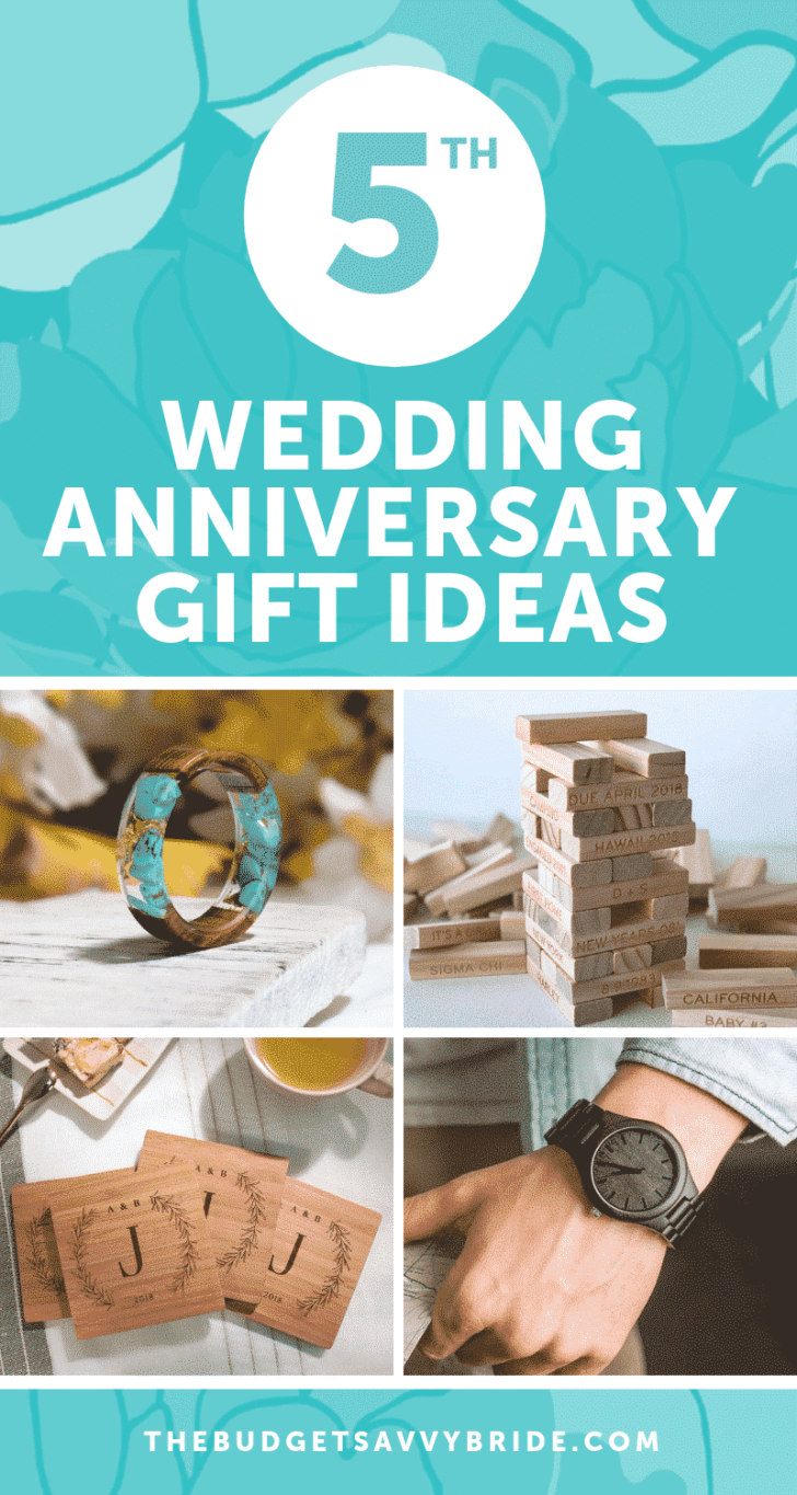 5th Wedding Anniversary Gift Ideas