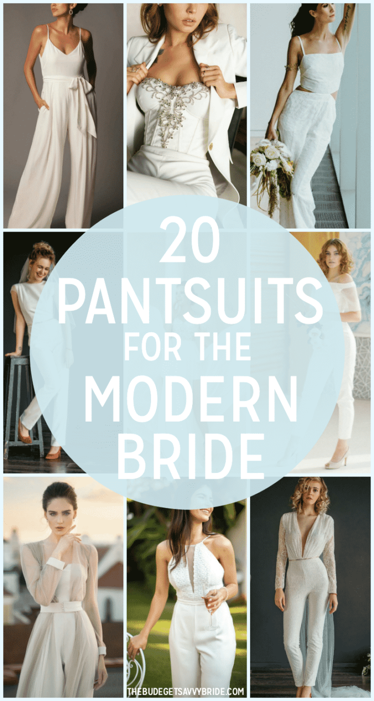 Jumpsuits and Pantsuits for the modern bride