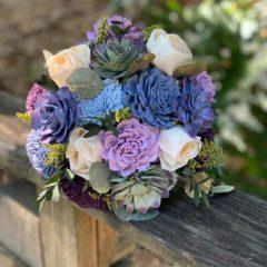 Pine and Petal Weddings - fairytale succulent bouquet