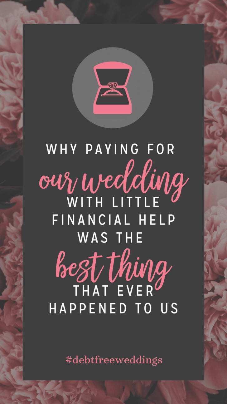 financial lessons from planning a wedding