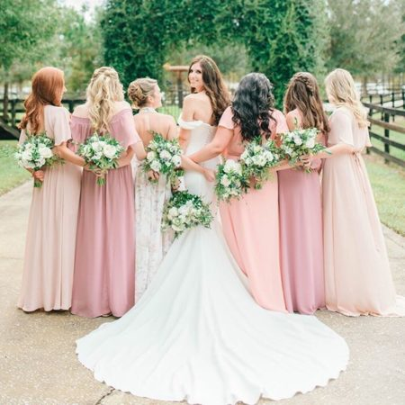 mumu boho bridesmaids