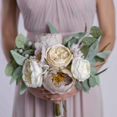taylor bridesmaid bouquet - something borrowed blooms