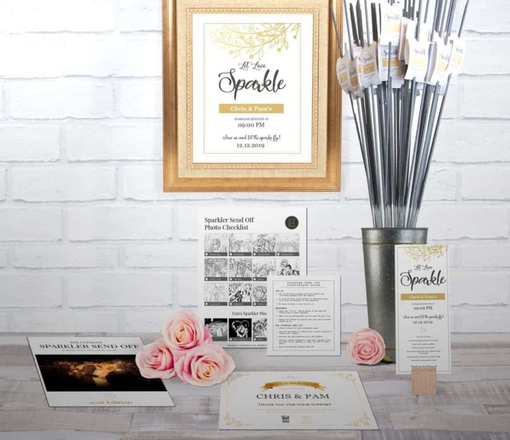 wedding sparkler display kit-brideenvy-classic