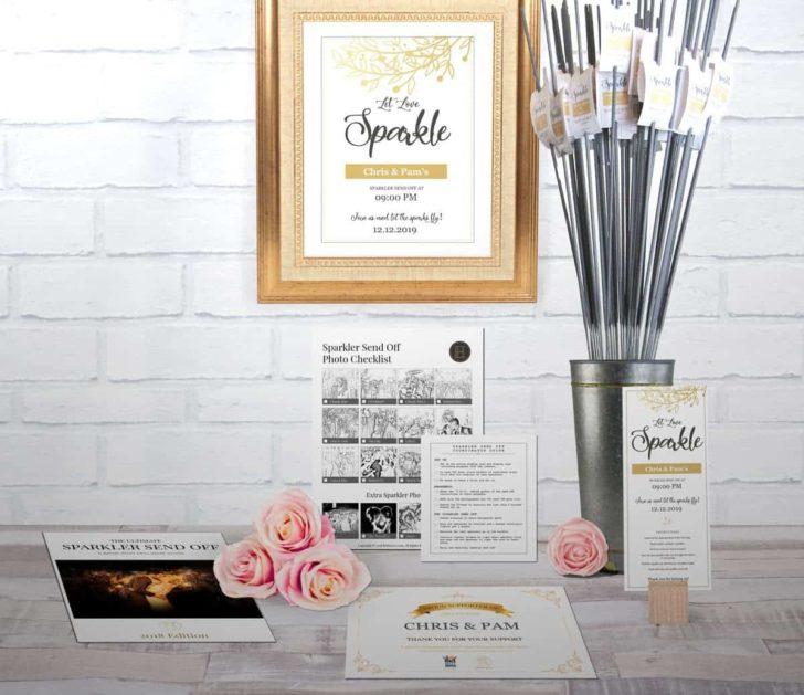 wedding sparkler display kit-brideenvy-classic