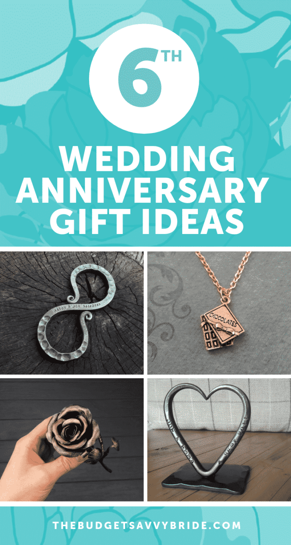 6th Wedding Anniversary Gift Ideas - Creative Gifts for your Sixth Wedding Anniversary from Etsy!