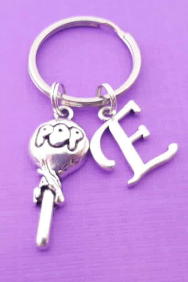 BLOW POP PERSONALIZED KEYCHAIN By DaisyandFox