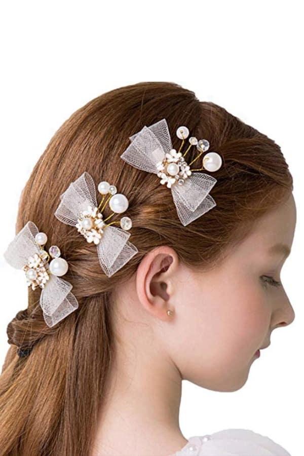 HAIR FLOWERS AND BEADED HAIR FLOWERS AND BEADED BOWS By DreamyoBOWS By Dreamyo