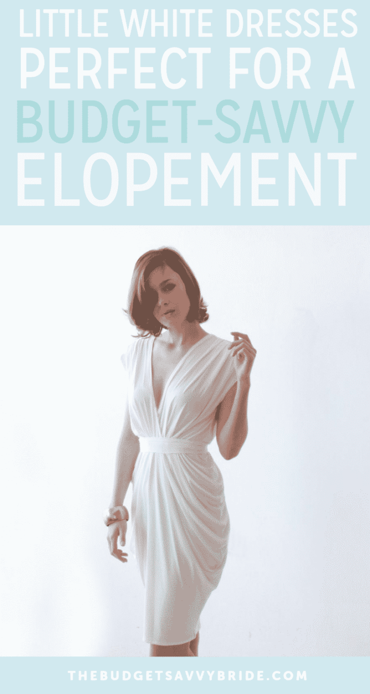 Little White Dresses that are Perfect for a Budget-Savvy Elopement