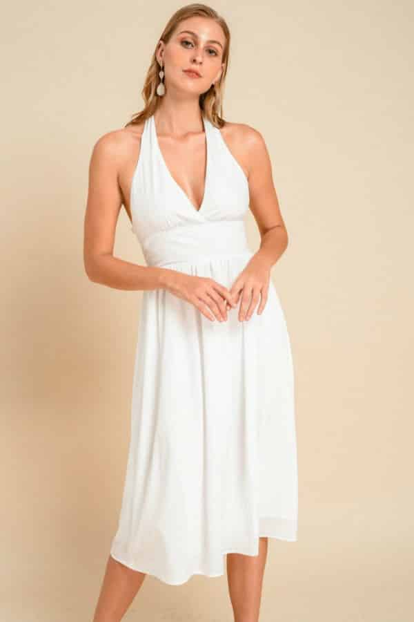MARILYN WHITE DRESS  By NoireBrand