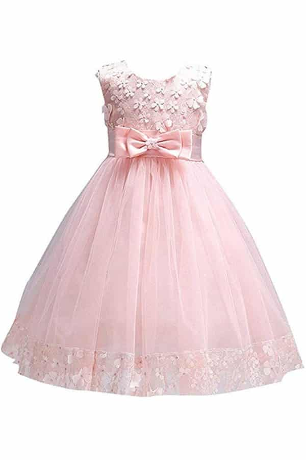 PRINCESS FLOWER GIRL DRESS By FKKFYY
