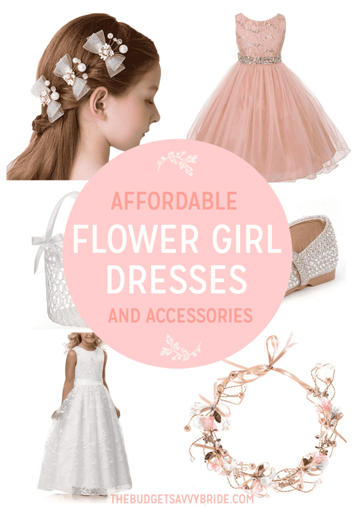 Affordable Flower Girl Dresses and Accessories