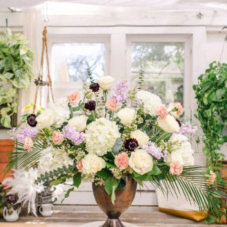 bloom culture flowers - ceremony floral arrangement - step 11 - final product