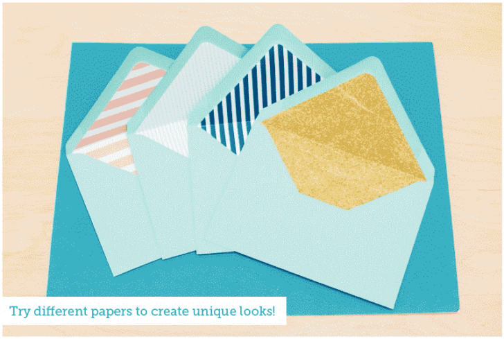 """""""They"""" say nothing is free. We beg the differ. Our list of wedding freebies will get you free wedding stuff with just the click of your mouse, including this envelope liner tutorial."""