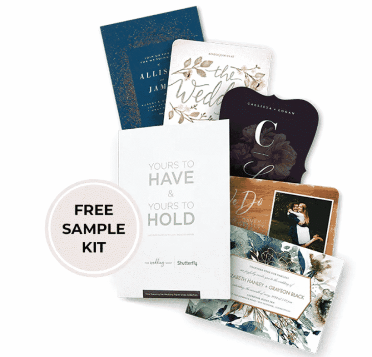 """They"" say nothing is free. We beg the differ. Our list of wedding freebies will get you free wedding stuff with just the click of your mouse, including these invitation samples."