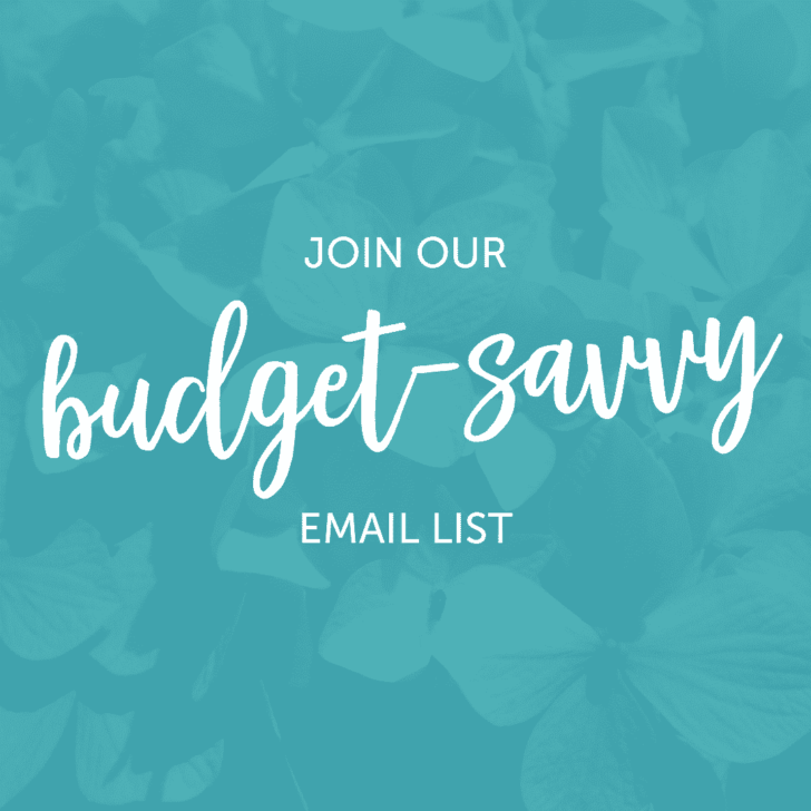 wedding email list - contact the budget savvy bride
