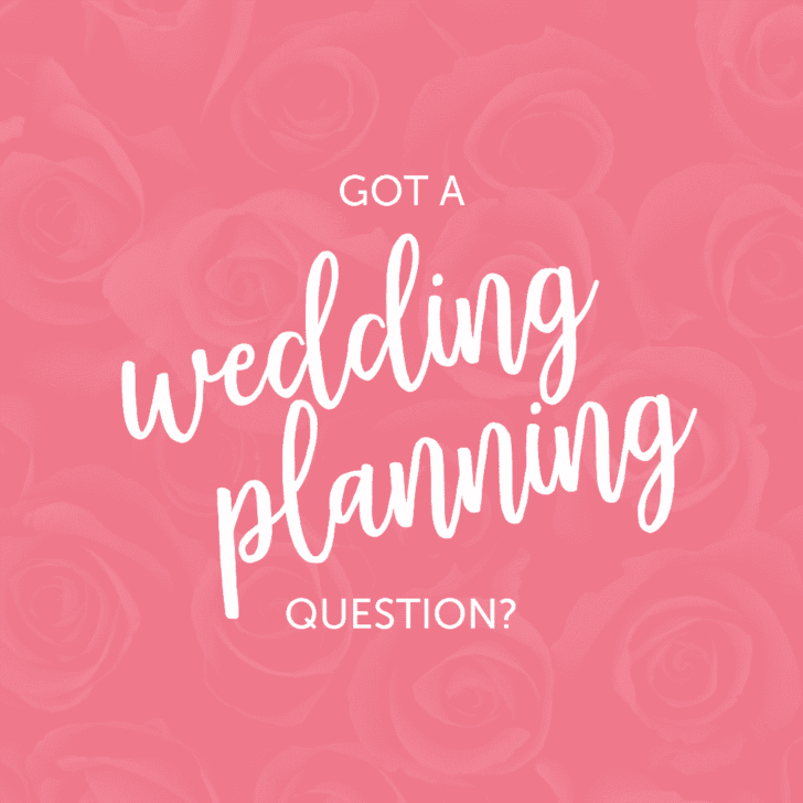 wedding planning question - contact the budget savvy bride