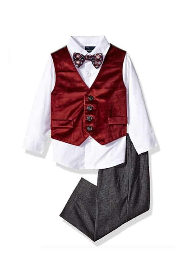 4-Piece Set with With Vest by Nautica