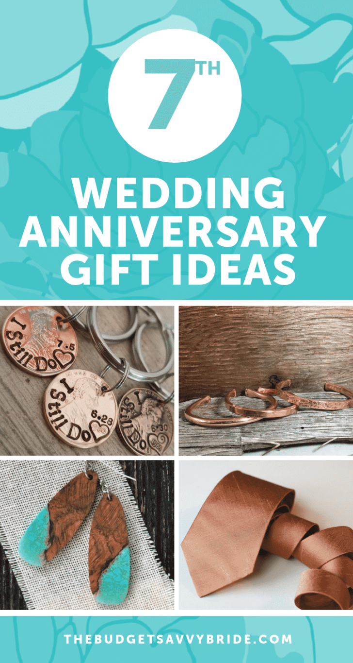 7th Anniversary Gift Ideas | Seventh Anniversary Gifts - gift ideas for your 7th wedding anniversary