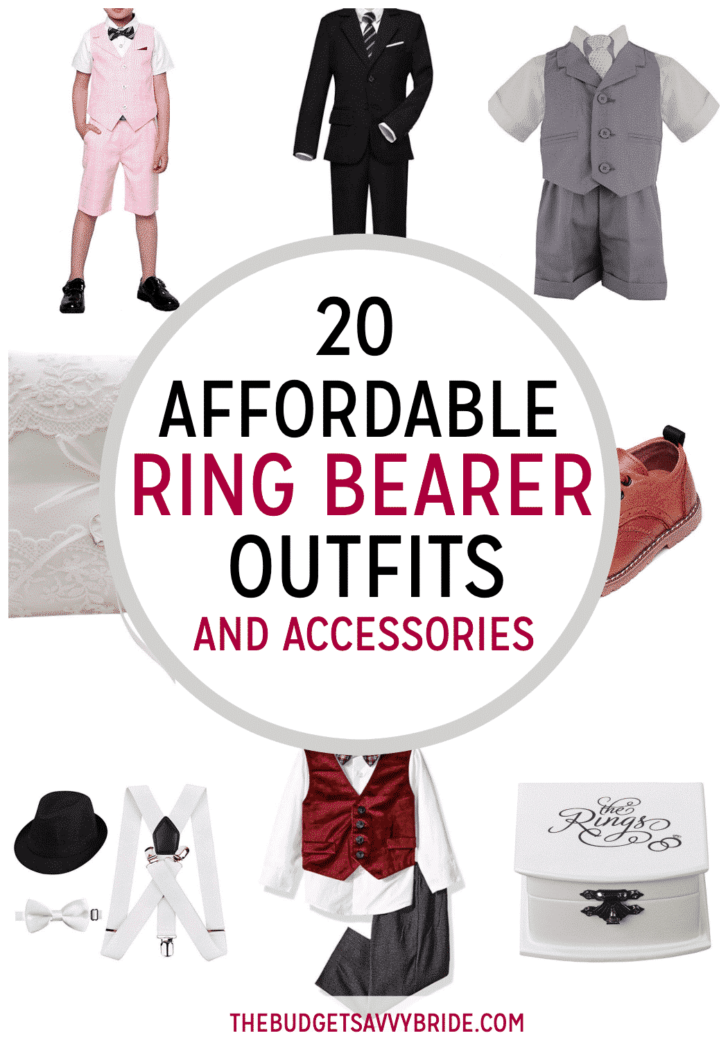 Affordable Ring Bearer Outfits and Accessories from Amazon