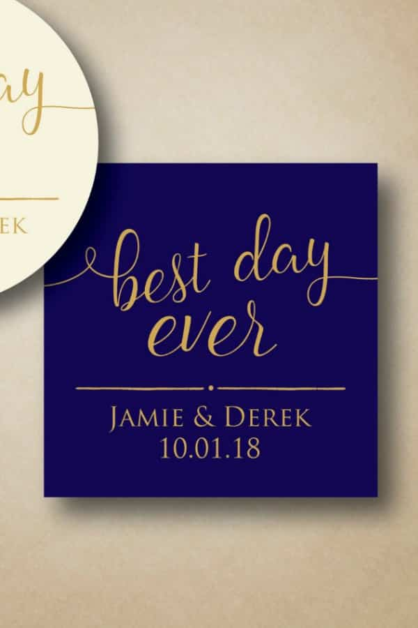Best Day Ever Labels By StickEmUpLabels