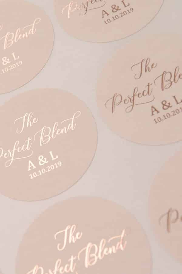 Perfect Blend Stickers By TheFoilStationeryCo