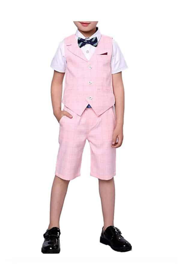 Pink Shorts Set By Yufan