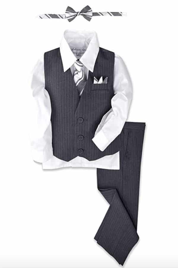 Pinstripe Suit By Johnnie Len