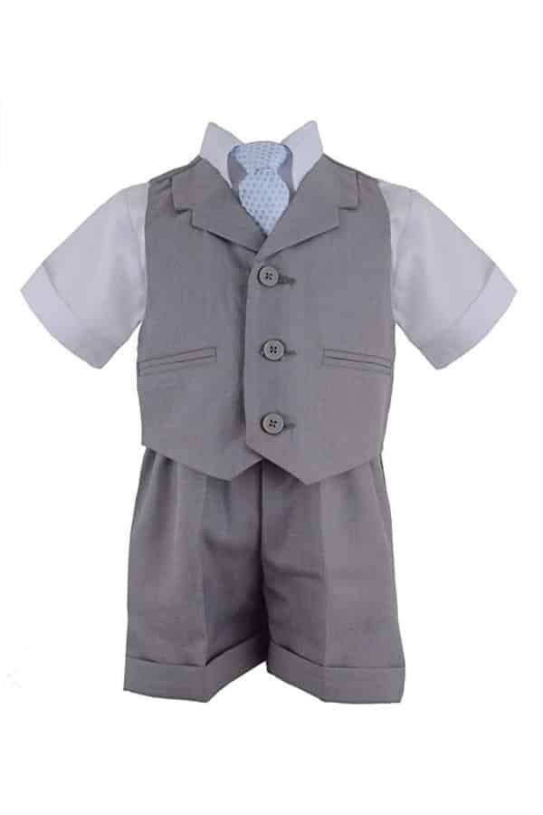 Shorts And Vest Set By Gino Giovanni   Affordable Ring Bearer Outfits And Accessories from Amazon