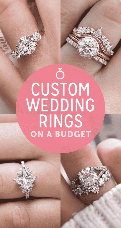 custom wedding rings on a budget