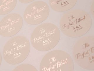 wedding favor labels from etsy