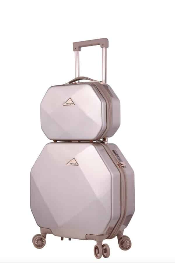 Gemstone Hardside Luggage and Tote | affordable luggage and travel finds for your honeymoon
