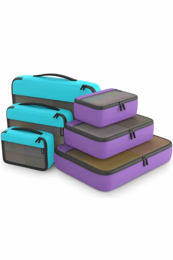 Packing Cube Travel Organizers | affordable luggage and travel finds for your honeymoon