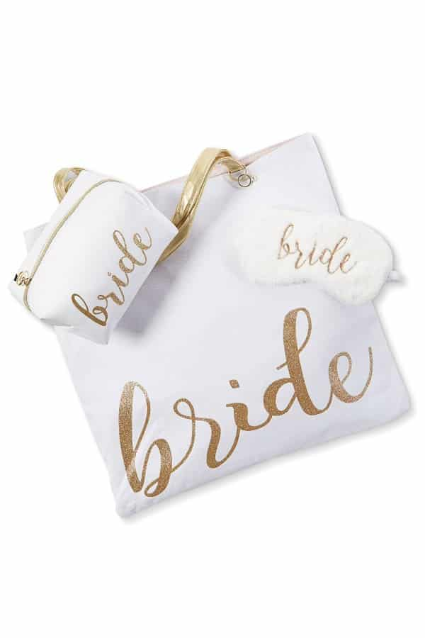 Reversible Bride Tote Bag | affordable luggage and travel finds for your honeymoon