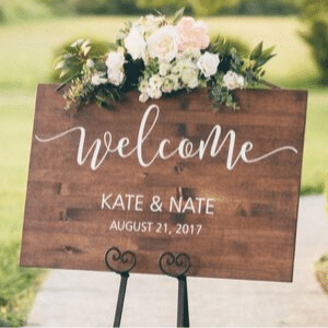 welcome sign etsy