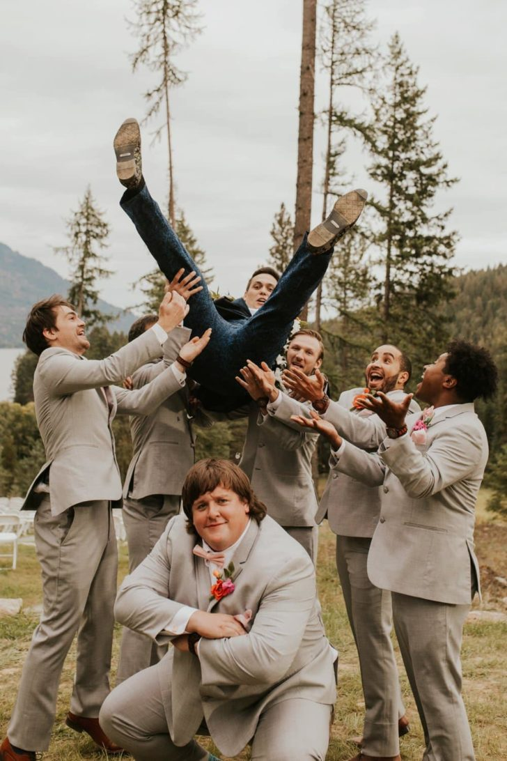 Connie + Stefan - Fair Trade Backyard Wedding in Idaho