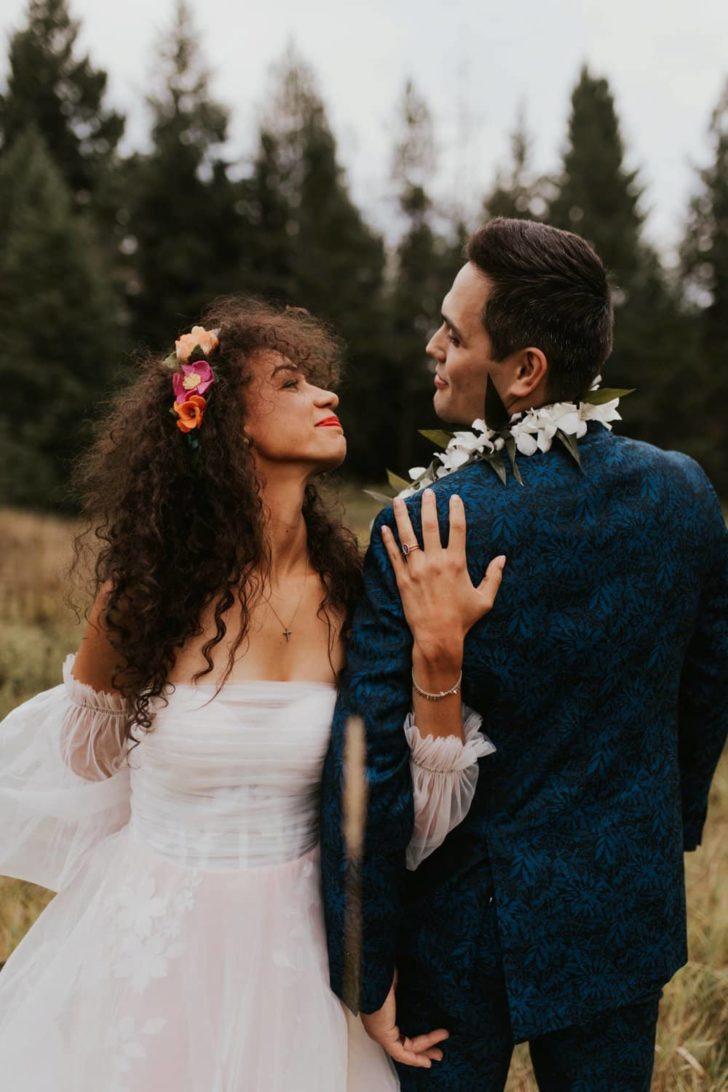 Fair Trade Backyard Wedding