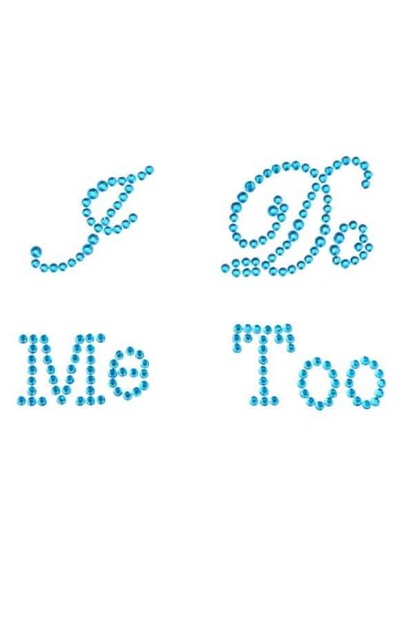 Affordable Ideas for Your Something Blue | I Do Me Too Stickers by Derker