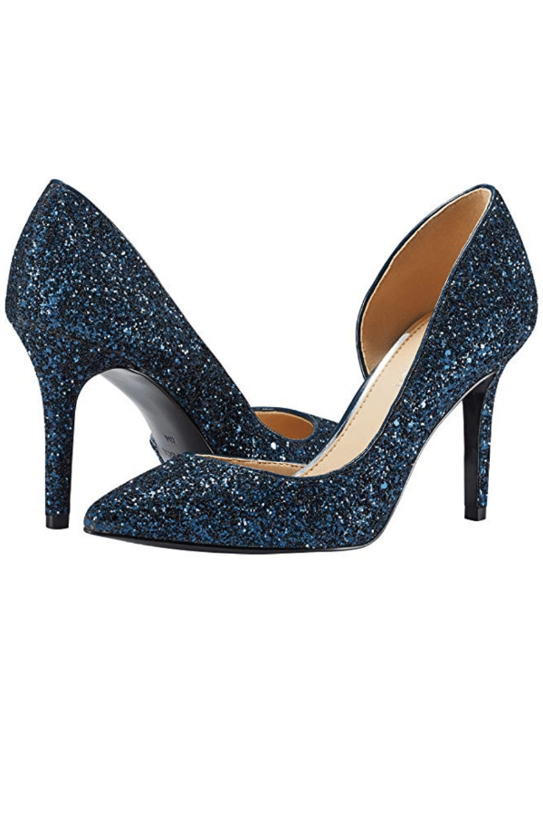 Affordable Ideas for Your Something Blue | Stiletto Pointed Toe Pumps by Jenn Ardor