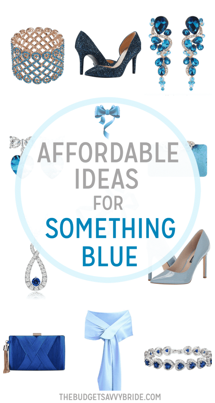 Affordable Ideas for Your Something Blue