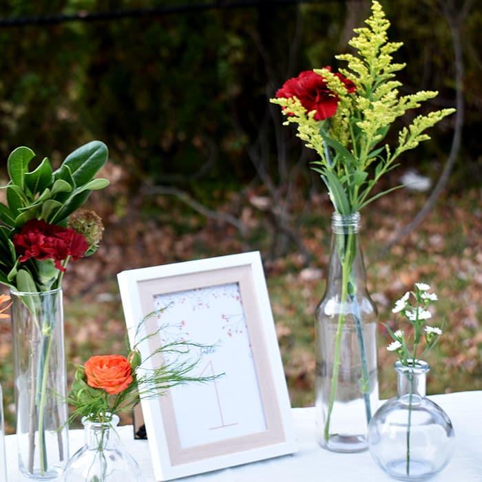 Boho Wildflower Wedding Inspiration Flower Tutorials Printables More