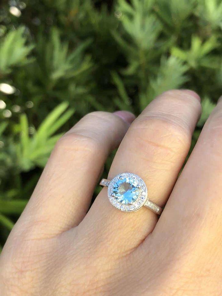 aquamarine ring jadorelli