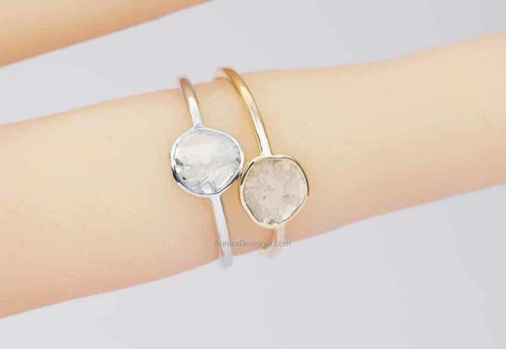 aurora designer engagement ring