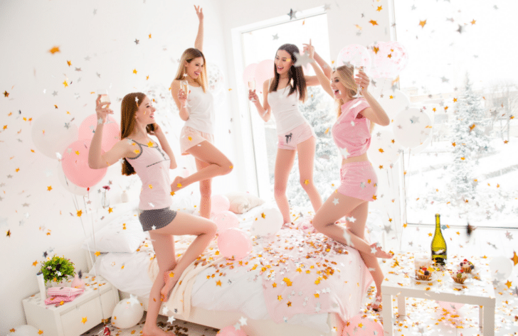 sober bachelorette party ideas - alcohol-free bachelorette party