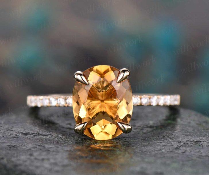 citrine engagement ring willwork