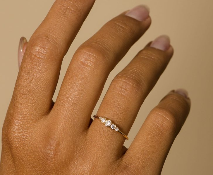 joie de viv aurora diamond ring