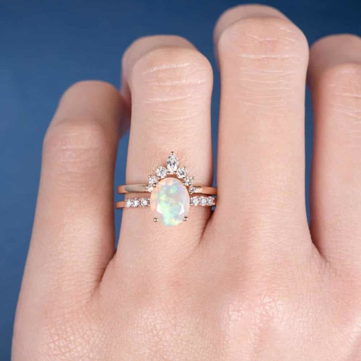 loveringsdesign opal engagement ring