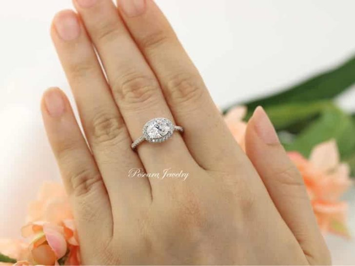 pescara oval east west engagement ring